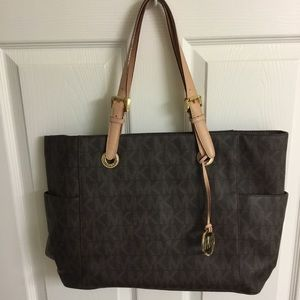 Michael Kors logo tote/laptop bag